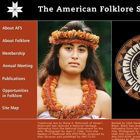 Web Archive - American folklore Society